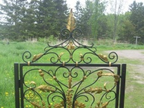 A photo of Hand-Forged Baroque Gate