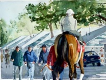 A photo of Keeneland:  Early Morning Workouts