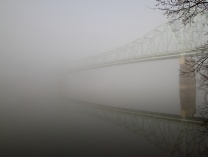 Sewickley Bridge in Fog