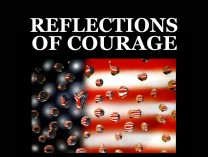 A photo of REFLECTIONS OF COURAGE......BOSTON