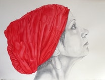 Photo of La femme en rouge