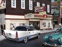 Photo of Colorized Theatre